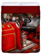 Fireman - Fire Engine No 3 Duvet Cover