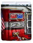 Fireman - Fire Engine Duvet Cover