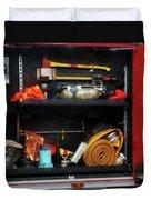 Fireman - Fire Fighting Supplies Duvet Cover