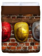 Fireman - Hats - Pick A Hat Any Hat  Duvet Cover