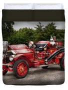 Fireman - Phoenix No2 Stroudsburg Pa 1923  Duvet Cover by Mike Savad