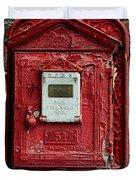 Fireman - The Fire Alarm Box Duvet Cover