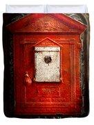 Fireman - The Fire Box Duvet Cover
