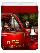 Fireman - This Is My Truck Duvet Cover