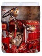 Fireman - Truck - Waiting For A Call Duvet Cover