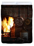 Fireplace Duvet Cover