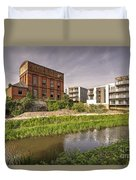 Firepool Water Tower  Duvet Cover