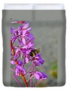 Fireweed Bee Duvet Cover