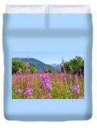 Fireweed Field Duvet Cover