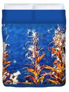 Fireweed Flower Duvet Cover by Heiko Koehrer-Wagner