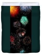 Colorful Explosions No2 Duvet Cover