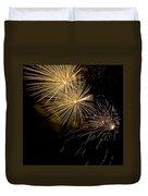 Fireworks 20 Duvet Cover by Sandy Swanson