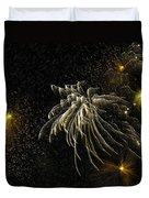 Fireworks As I See Them  Duvet Cover by F Leblanc