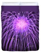 Fireworks At Night 2 Duvet Cover