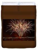 Fireworks At Tempe Town Lake  Duvet Cover by Saija  Lehtonen