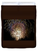 Fireworks Bursts Colors And Shapes 1 Duvet Cover