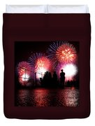 Fireworks Duvet Cover by Nishanth Gopinathan