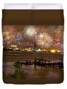 Fireworks On The Ben Duvet Cover