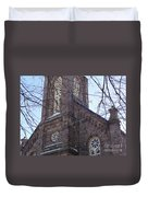 First Baptist Church Duvet Cover