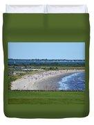 First Beach Newport Ri Duvet Cover