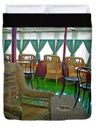 First Class Lounge In S S Klondike On Yukon River In Whitehorse-yt Duvet Cover