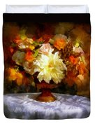 First Day Of Autumn - Still Life Duvet Cover