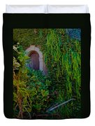 First Door On The Left Duvet Cover by Bill Gallagher