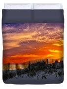 First Light At Cape Cod Beach  Duvet Cover