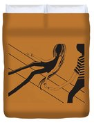 First Love   Number 11 Duvet Cover