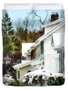 First Snow Duvet Cover