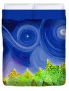 First Star By  Jrr Duvet Cover