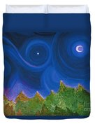 First Star Wish By Jrr Duvet Cover by First Star Art
