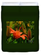 First To Bloom Duvet Cover