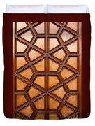 Firuz Aga Mosque Door 06 Duvet Cover