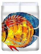 Fish 502-11-13 Marucii Duvet Cover