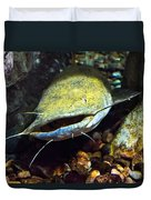 Fish Lips Duvet Cover