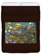 Fish Net Hdr Duvet Cover