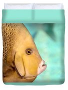 Fish Profile Duvet Cover