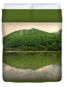 Fish Reflection Where The Kanawha Begins Duvet Cover