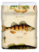 Fish Trio-c Duvet Cover