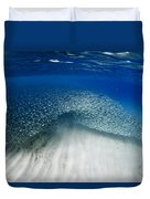Fish Wave. Duvet Cover by Sean Davey