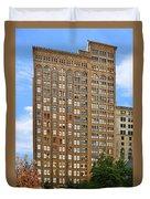Fisher Building - A Neo-gothic Chicago Landmark Duvet Cover