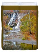 Fisherman One With Nature Duvet Cover