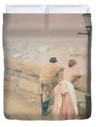 Fisherman St. Ives Duvet Cover by Anders Leonard Zorn