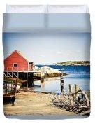Fisherman's Cove Duvet Cover