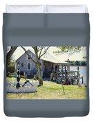 Fisherman's House 3 Duvet Cover