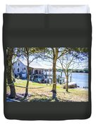 Fisherman's House 4 Duvet Cover