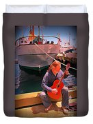 Fishermans Song Duvet Cover