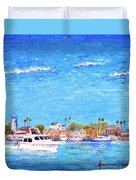 Fisherman's Village Duvet Cover