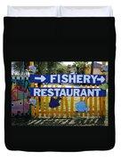 Fishery Duvet Cover